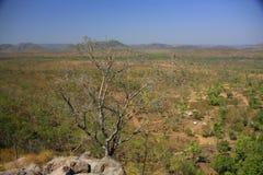Jim Jim Falls, het Nationale Park van Kakadu, Australië Royalty-vrije Stock Fotografie