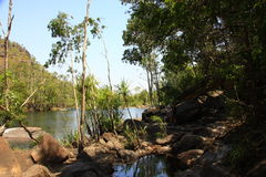 Jim Jim Falls at Kakadu National Park, Northern Territory, Australia Stock Photography