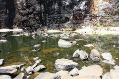 Jim Jim Falls, parc national de Kakadu, Australie Photographie stock