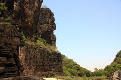 Jim Jim Falls, parco nazionale di Kakadu, Australia Immagine Stock Libera da Diritti