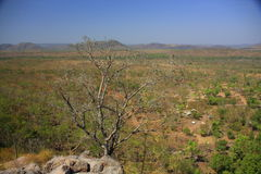 Jim Jim Falls, parque nacional de Kakadu, Austrália Fotografia de Stock Royalty Free