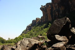 Jim Jim Falls, parque nacional de Kakadu, Australia Foto de archivo libre de regalías