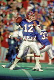 Jim Kelly Of The Buffalo Bills Image libre de droits