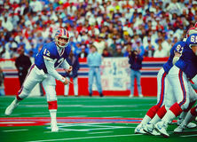 Jim Kelly Buffalo Bills QB Royalty Free Stock Images