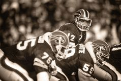 Jim Kelly Buffalo Bills stock afbeeldingen