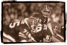Jim Kelly Buffalo Bills stock foto