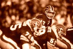 Jim Kelly Buffalo Bills royalty-vrije stock afbeeldingen