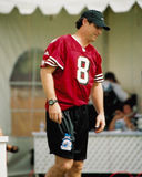Steve Young. NFL QB Challenge contestant, Steve Young. (Image taken from color slide Royalty Free Stock Photography