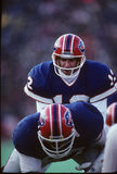 Jim Kelly Quarterback of the Buffalo Bills. Jim Kelly Quarterback of theBuffalo Bills calling signals  for the play Royalty Free Stock Photos