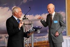 Jim Mather MSP & Fred Olsen Royalty Free Stock Photo