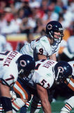 Jim McMahon Quarterback dei Chicago Bears Fotografia Stock