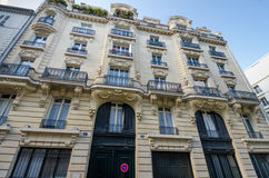 Jim Morrison apartment in Paris Stock Images
