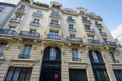 Jim Morrison lägenhet i Paris Arkivbilder
