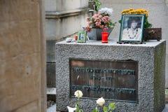 Jim Morrison's grave Royalty Free Stock Photos