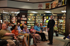 Jim Ottaviani at Nicola's Books June 2013 Stock Photography
