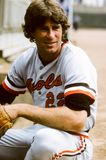 Jim Palmer, Baltimore Orioles Image stock