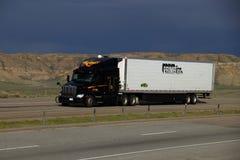 Jim Palmer - WilTrans/de la prima camión semi imagen de archivo