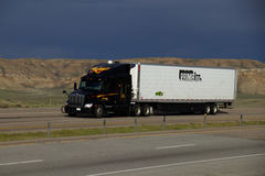Jim Palmer - WilTrans/halv lastbil för början Fotografering för Bildbyråer