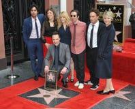 Jim Parsons & Big Bang Theory co-stars Royalty Free Stock Photos