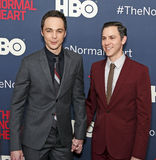 Jim Parsons and Todd Spiewak Stock Photo