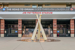 Jim Patterson Baseball Stadium immagine stock