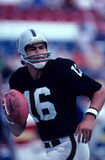 Jim Plunkett. Oakland Raiders QB. (Image taken from a color slide Stock Images