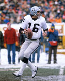 Jim Plunkett. Oakland Raiders QB. (Image taken from a color slide Stock Image