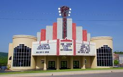 Jim Stafford musicalu i komedii występu Żywy centrum Obraz Royalty Free