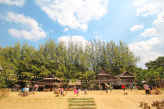 Jim Thompson Farm, Korat Tailandia Foto de archivo