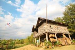 Jim Thompson Farm, Korat Tailandia Imagenes de archivo