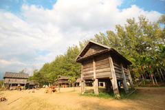 Jim Thompson Farm, Korat Tailandia Fotografía de archivo libre de regalías