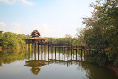 Jim Thompson Farm, Korat Tailandia Imágenes de archivo libres de regalías