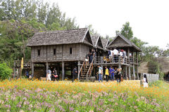Jim Thompson Farm Thailand Royaltyfri Foto