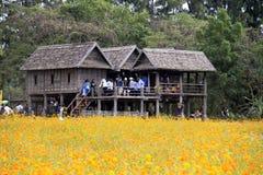 Jim Thompson Farm, Thailand. stock images