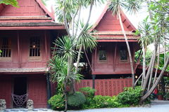 Jim Thompson House Bangkok thailand Royaltyfri Bild