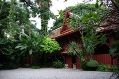Jim Thompson house Stock Photography