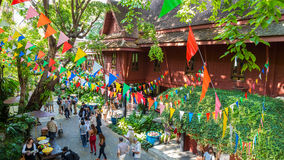 Jim Thompson Museum in Bangkok, Thailand Royalty Free Stock Photo