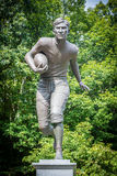 Jim Thorpe Football Memorial στοκ φωτογραφία