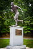 Jim Thorpe Football Statue στοκ εικόνες με δικαίωμα ελεύθερης χρήσης