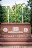 Jim Thorpe Memorial στοκ φωτογραφία με δικαίωμα ελεύθερης χρήσης