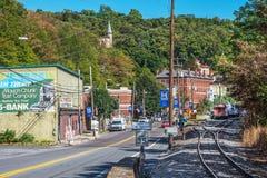 Jim Thorpe Pennsylvania Royaltyfria Foton