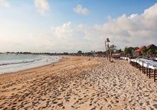 Jimbaran beach Royalty Free Stock Photography