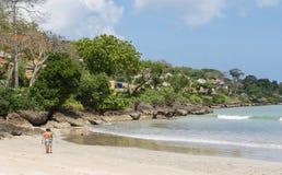 Jimbaran Beach in Bali. Stock Photos