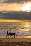 Jimbaran Beach, Bali, Indonesia Royalty Free Stock Photos