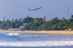 Jimbaran beach in Bali, Indonesia Stock Images
