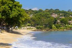 Jimbaran beach in Bali, Indonesia Royalty Free Stock Photography