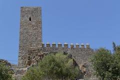 Jimena kasteel Royalty-vrije Stock Foto