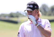 Jimenez at golf French Open 2010 Stock Photography