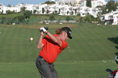 Jimenez, Golf Open de Andalucia 2007 Stock Images
