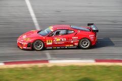 JimGainer Ferrari 11, SuperGT 2010 Stock Photo